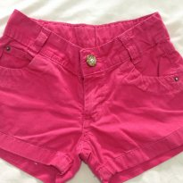 Shorts Rosinha - 6 anos - Boomy
