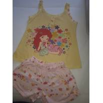 Pijama Moranguinho - 10 anos - Strawberry shortcake