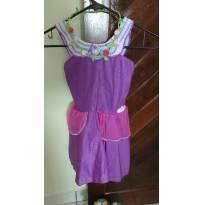 Fantasia Barbie Princesa Fada Butterfly Com Coroa De Flores -  - Fantasias  Sulamericana