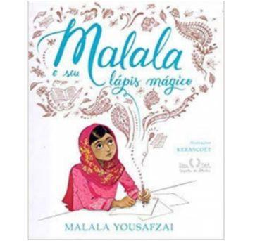 Malala E Seu Lápis Mágico - Livro - Sem faixa etaria - Companhia das Letras