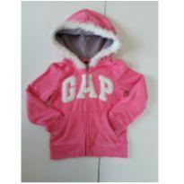 Casaco Baby Gap Rosa com Capuz 4 anos - 4 anos - Baby Gap