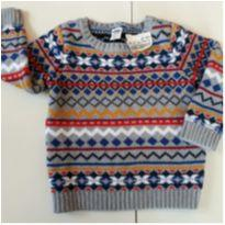 Casaco Tricot Old Navy - 18 a 24 meses - Old Navy (USA)