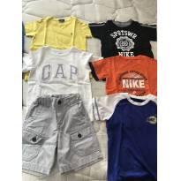 Lote luxo - 3 anos - GAP e Nike