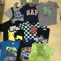 Kit camisetas - 4 anos - Baby Gap