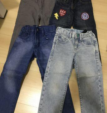 Kit calça gap - 4 anos - Baby Gap