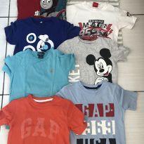 Lote camisetas originais - 5 anos - Ralph Lauren e Baby Gap