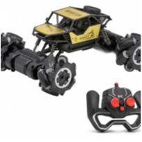 Carrinho Controle Remoto Brinquedo Pickup 4x4 Giro 360 Graus -  - Não informada