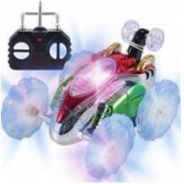 Carrinho Controle Remoto Maluco Carro Gira 360º C/ Luz -  - Não informada