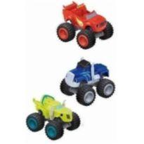 6 Carrinhos De Fricçao Blaze Monster Machine Racer Brinquedo -  - Não informada