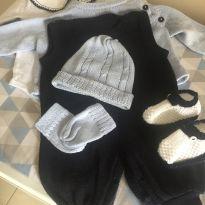 Kit saída de maternidade - 0 a 3 meses - Sem marca