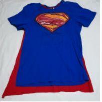 Fantasia Super Homem - 10 anos - Não informada