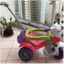 Triciclo / Tico-tico Bichos Som E Luzes - Rosa - Magic Toys -  - Magic Toys