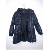 jaqueta preta - 10 anos - Não informada