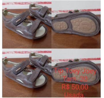 Sandália em couro - 20 - Tip Toey Joey