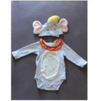 Fantasia Dumbo Disney - 6 a 9 meses - Disney
