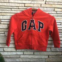 Moletom vermelhão Gap - 2 anos - GAP