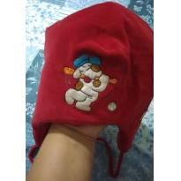 Touca Vermelha muito linda e quentinha -  - Ever Baby