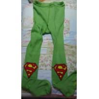 Meia Calça de Frio do Super Homem - 4 anos - Importado