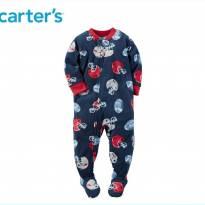 Macacão de Frio em flecee da carter`s - 3 anos - Carter`s