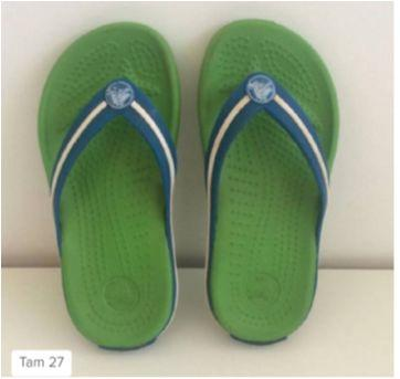 Chinelo Crocs - 27 - Crocs