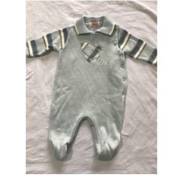 Macacão - Saída maternidade foguetinho - Recém Nascido - Alô bebê