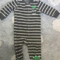 Macacão Dino Fleece Carters - 6 meses - Carter`s