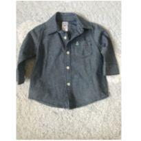 Camisa jeans Carters - 6 meses - Carter`s