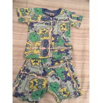Pijama menino PUC brilha no escuro - 9 a 12 meses - PUC