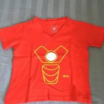 Camiseta homem de ferro - 3 anos - 4Baby
