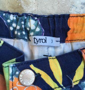 Bermuda estampada Tyrol - 3 anos - Tyrol