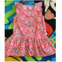Vestido florido PUC - 2 anos - PUC