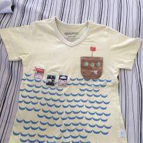 Camiseta Piratinhas - 3 anos - Alphabeto