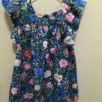 Vestido florido Um Mais Um - 2 anos - 1+1