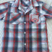 Camisa xadrez em algodão - 3 anos - Trick