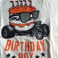 Camiseta Baby Gap Aniversário - 3 anos - Baby Gap