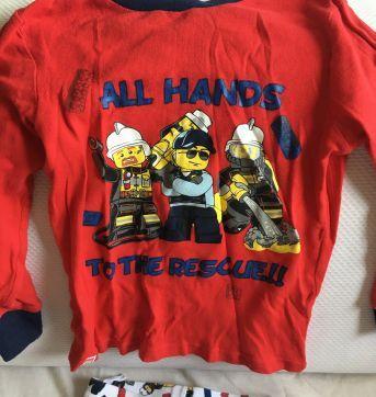 Pijama do Lego - 3 anos - Importada
