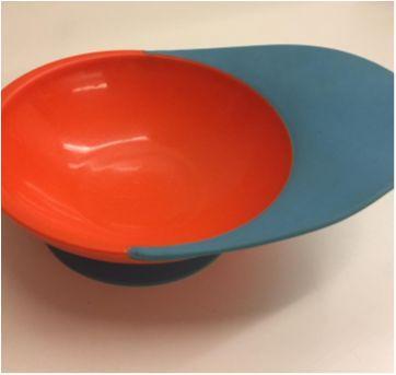 Prato com ventosa e cata migalha em silicone - Sem faixa etaria - Boon