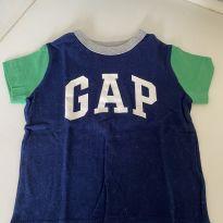 Camiseta Gap - 9 a 12 meses - Baby Gap