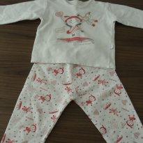 Pijama de Boneca - Quentinho! - 1 ano - Cara de Criança