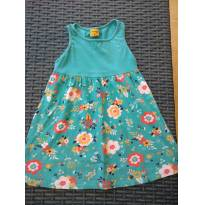 Vestido Mineral Kids Floral Azul - 4 anos - Mineral Kids