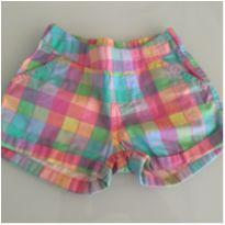 Short Mineral Kids Colorido - 18 a 24 meses - Mineral Kids