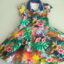 Vestido Lilica Ripilica Floral - Simplesmente Lindo! - 4 anos - Lilica Ripilica