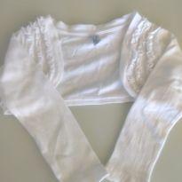 Bolero Branco Zara - 2 anos - Zara
