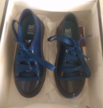 Tênis Mini Melissa Be Azul Marinho - 25 - Mini Melissa original