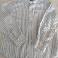 Camisa Manga Longa Tommy Hilfiger - 4 anos - Tommy Hilfiger