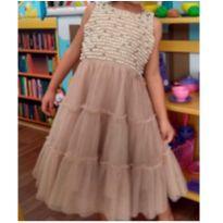 Vestido de Festa Animê - MARAVILHOSO! - 4 anos - Animê