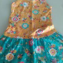 Vestido Florido - 6 anos - Mineral Kids