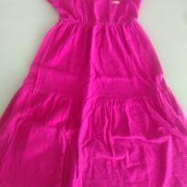 Vestido Midi Pink - Lindo! - 6 anos - Marisol