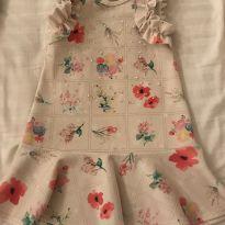 Vestido Florido - 4 anos - Infanti