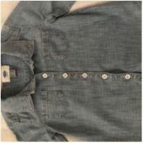 Camisa jeans - 4 anos - Old Navy